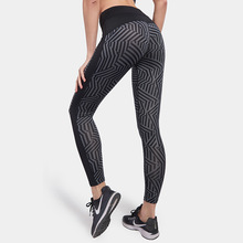 Sport Leggings Women Running Tights Workout Fitness Clothing Jogging Running Pants Gym Tights Stretch Print Sportswear yoga pants women running tights s xl sport fitness leggings stretching slimming hip up gym tights flower jogging workout pants