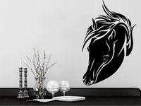 Horse Head Wall Decals Animal Vinyl Decal Sticker Home Interior Design