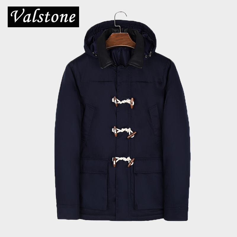 Valstone NEW Quality Winter warm Parkas Men thick Coats regular pattern leather collar warm clothing velvet overcoat hooded 3XL valstone new quality winter warm parkas men thick coats regular pattern leather collar warm clothing velvet overcoat hooded 3xl