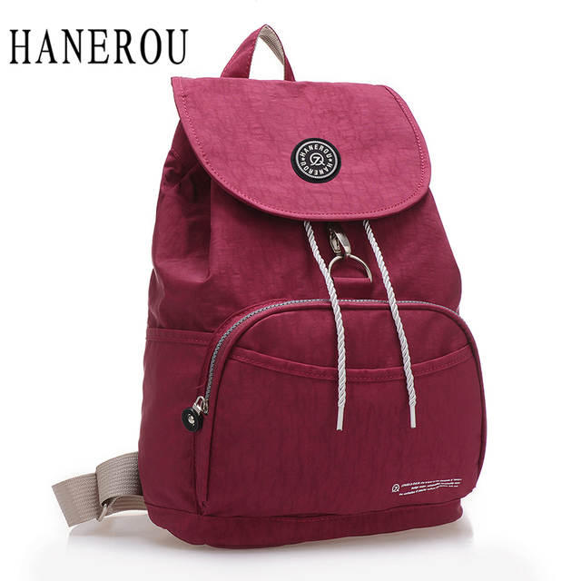 8ae695f60322 placeholder Preppy Style Women Backpack Waterproof Nylon Backpack 10 Colors  Lady Women s Backpacks Female Casual Travel Bag