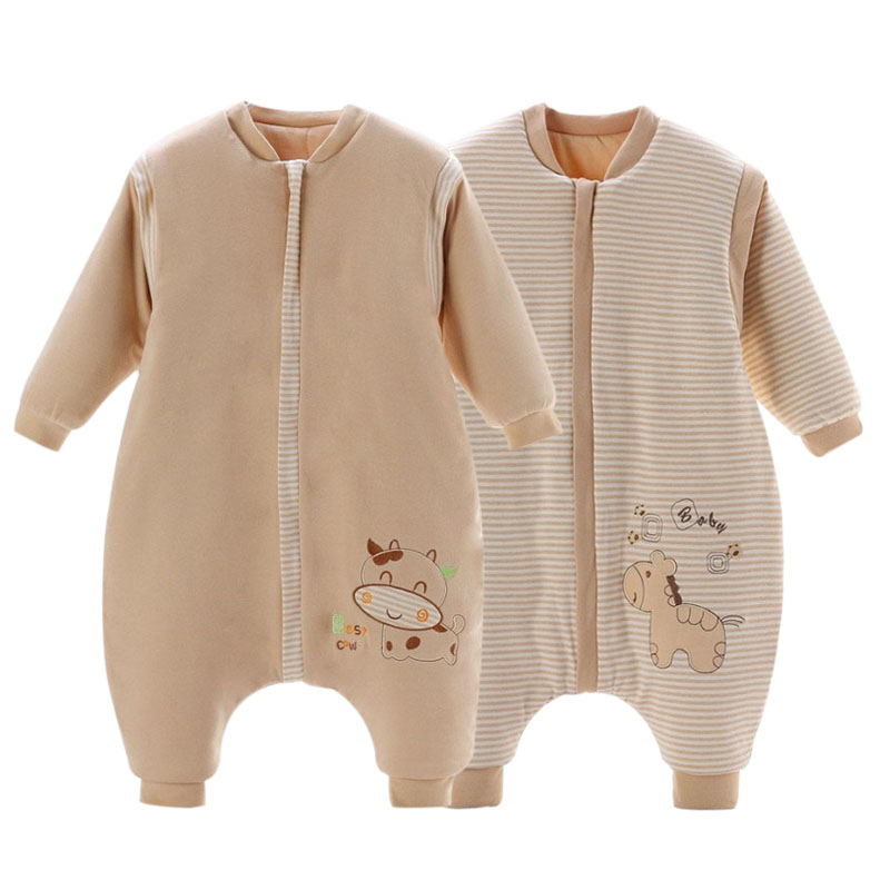 Cartoon Printed Baby Kids Sleeping Bag Breathable Children Swaddling Sleep Sack Comfortable Newborn Infant Sleep Bags Bedding ...