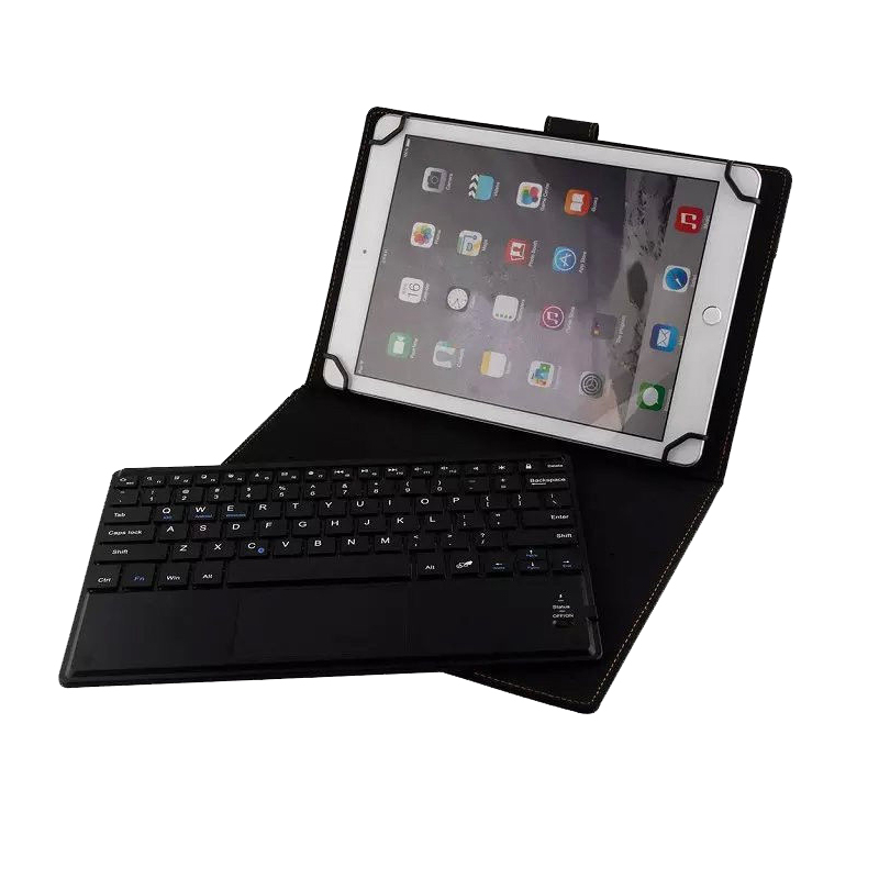 Wireless Removable Bluetooth Keyboard Case Cover Touchpad For Samsung Galaxy Note 10.1 N8000 N8010 2014 Edition P600 P601 P605 wireless bluetooth keyboard with touchpad leather cover case for samsung galaxy note pro tab pro 12 2 inch p900 p901 p905