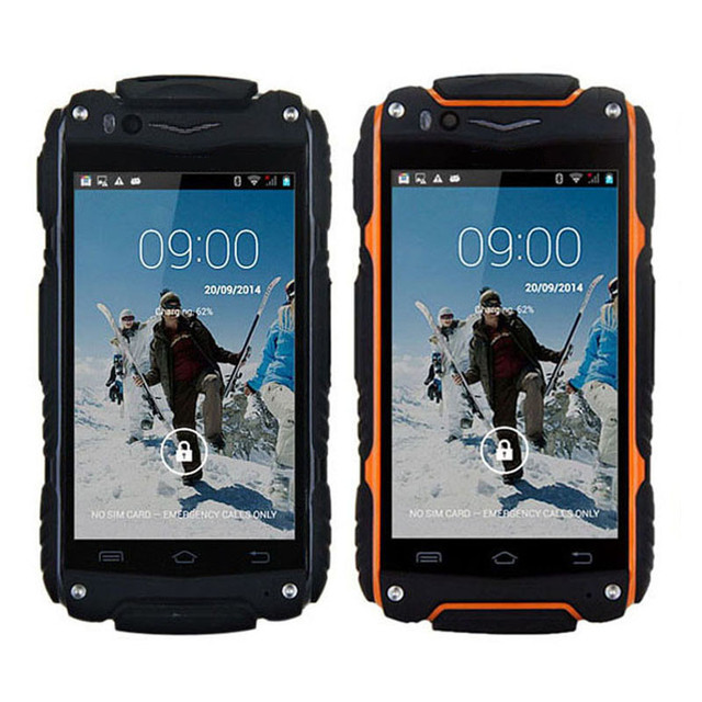 S Guophone V8 Waterproof Phone Android 4 4outdoor Rugged Dual Core Mtk6572 512mb Ram 0