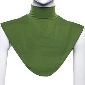 Image 3 - Ramdan Women Muslim Hijab Islamic Turtleneck Neck Cover False Collar Wrap Apparel Moslem Loop Scarf Fake T shirt Collar  20 Colo