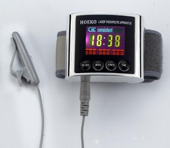 2017 Nueva 650nm Baja Azúcar En La Sangre Diabetes Residuos Eliminar Y Alivio del Dolor Terapia Suave Irradiación Láser Dispositivo de Tratamiento
