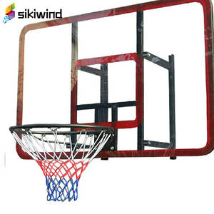 Standard Nylon Basketball Net White Red Blue Thread Sports Basketball Hoop Mesh Backboard