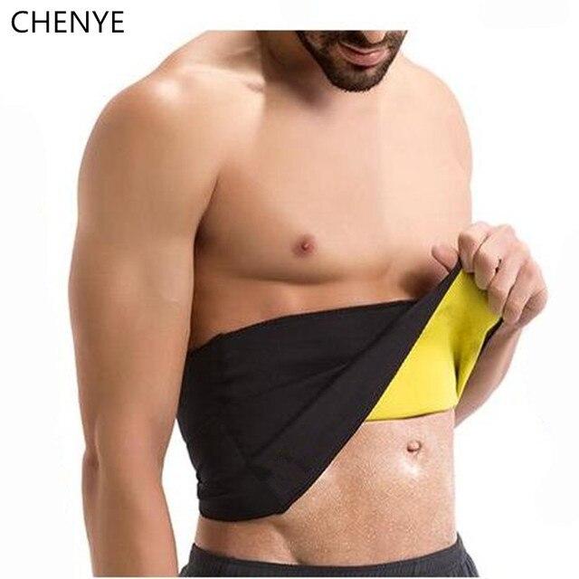 87967d1085eb2 Men s Compression Body Shaper Belt new neoprene waist trainer shapers slim  corset slimming fitness control girdle waist cincher