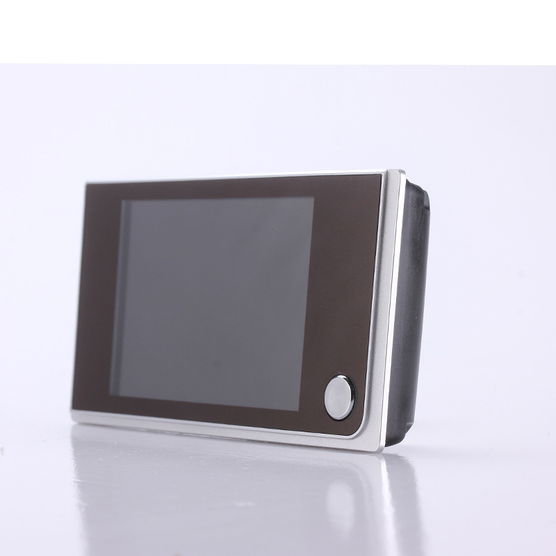 "Simple DIY digital peephole door viewer on door for security 2MP camera 3.5"" TFT display"