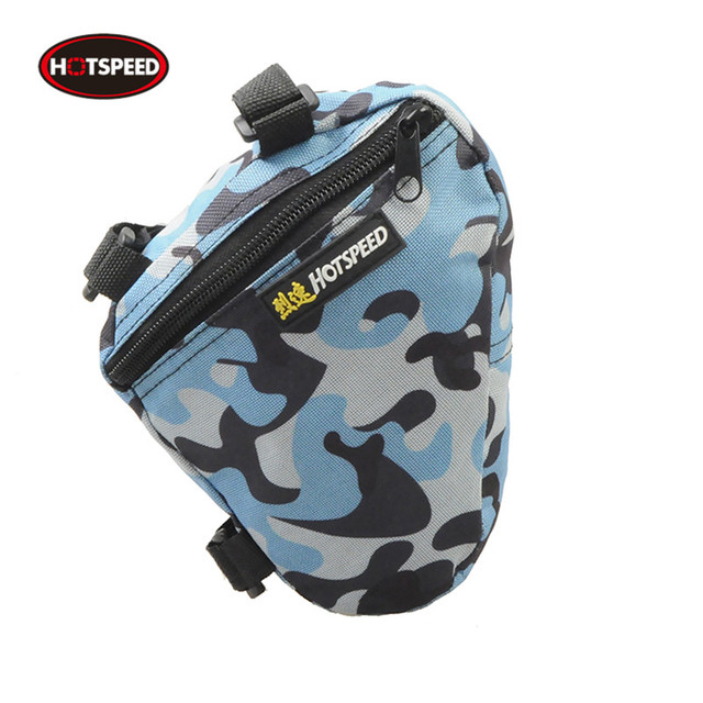 95f2c3c064 HOTSPEED Cycling Bike Bicycle Front Tube Frame Pouch Holder Saddle Bag  Mountain Bike Package Ciclismo Pannier