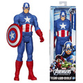 "Action Toy Figures Heros Captain America The First Avengers Superhero Assemble 12"" Action Figure Toy Boy Gift PVC Model 30CM"