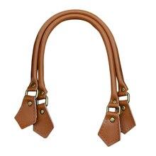 1 pairs Handle Bag Straps PU Leather 40cm/50cm/60cm  Handle Belt  Handles Replacement for Handbags Strap DIY Accessories 2109 цены онлайн