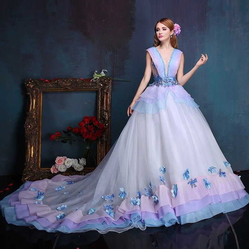 Online Buy Wholesale purple wedding dresses from China purple ...