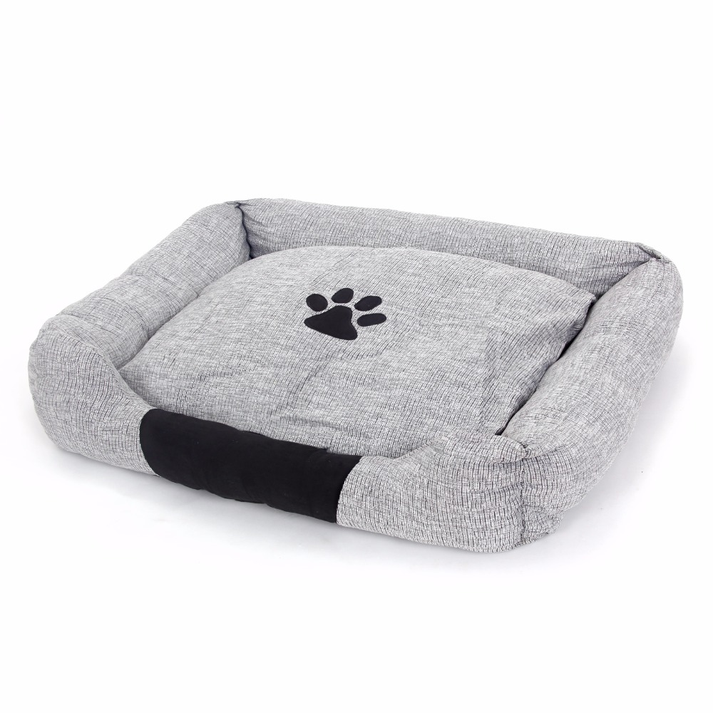 Fast For Australia Dog Cat Bed Size Large Cushion Fabric Fluid Systems Soft Cozy Puppy Pet Kennel Or Sofa Gray In Beds Mats From Home