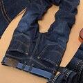 100% marca de jeans 2016 calças de Brim Dos Homens denim calças de brim de Algodão designer de moda de Alta Qualtiy Alta qualidade por atacado de jeans Plus Size