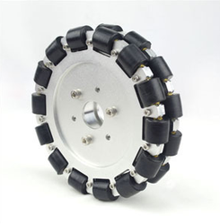 Dual Aluminum Omnidirectional Wheel 6 Inch 152mm Robot Competition Wheel