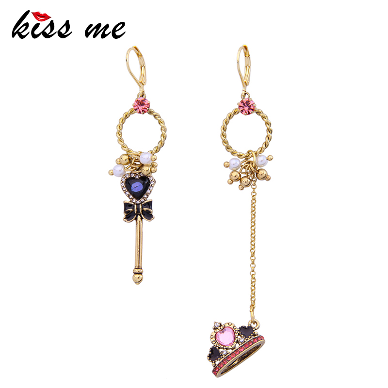 Fashion accessories taiaha Women asymmetrical vintage earrings Factory Wholesale