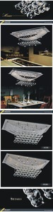 Image 3 - Moderna Di Alta qualità di Cristallo luci della Stanza Da Pranzo di cristallo atmosfera di Lusso lampadario luce consegna gratuita
