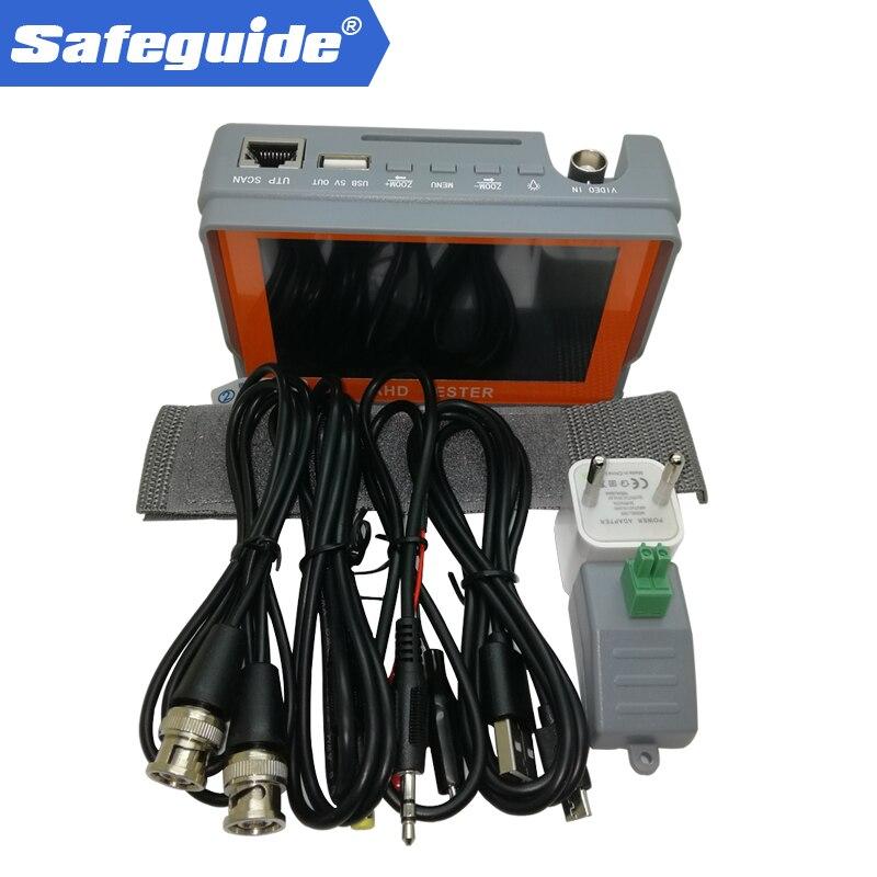2019 Hot Sale Iv7a CCTV Security Camera Tester 1080P / 5MP AHD & CVBS & 5MP TVI & 4MP CVI 4-in-1 Analog Video Tester
