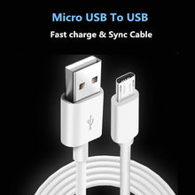 Android micro USB kabel do Huawei Honer 6/6 Plus/7/9i/X1/X2/4C/4X/5/ 5X/6X szybkie ładowanie kabel do ładowarki Data Sync Adapter(China)