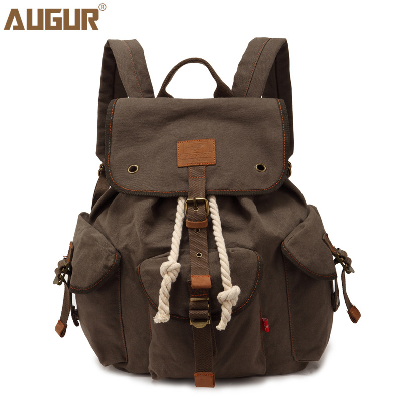 Men Women Backpack Vintage Canvas Backpack School Bag Men's Travel Bags Large Capacity Travel Backpack Bag2