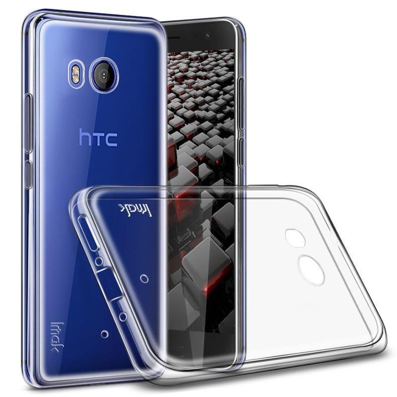 Für Coque HTC U11 IMAK Fall Dauerhaften Weichen Silikon Transparent abdeckung für HTC Ozean U11 Fall HTC U12 Plus Lite fall U11Plus Augen