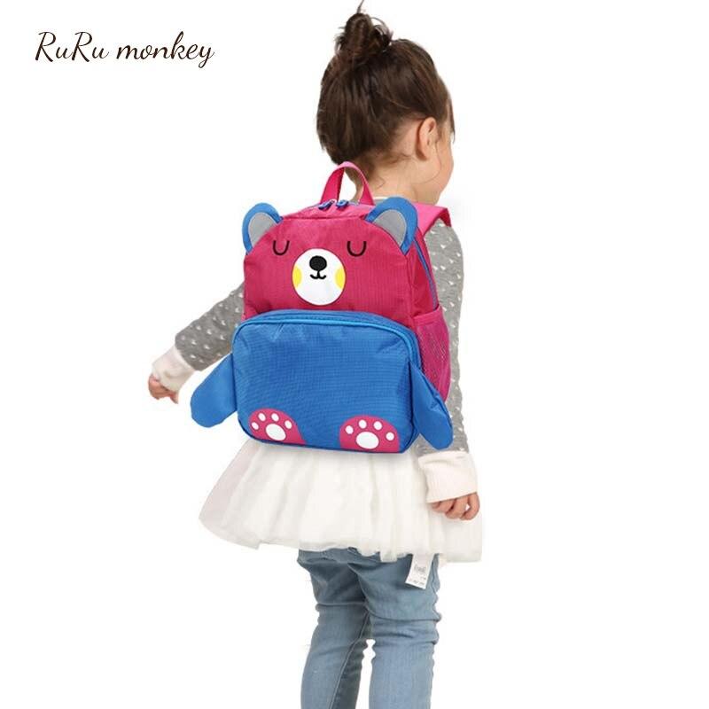 de Alta Qualidade Backpack Alunos Schoolbag Bonito Kid