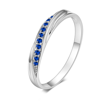 Top Quality Wedding Party Finger Rings For Women Fashion Brand Austrian Crystal Tail Ring Vintage Jewelry DWR314M 9