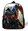 12-inch Boys School Bags Optimus Cartoon Bag Backpacks Transformers School Bags For Child Aged 1-6.