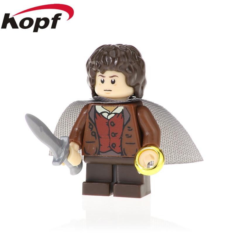 Toys & Hobbies Friendly 20pcs The Lord Of The Rings Bricks Frodo Thranduil Elrond Galadriel Merry Arwen Gandalf Building Blocks Children Toys Pg541 Model Building