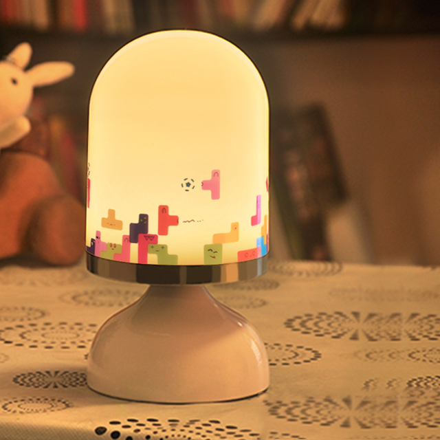 LED Night Lights Touch Sensor Vibration Lamp Night Lights Baby Bedroom Decoration Bedside Light Cute Gift