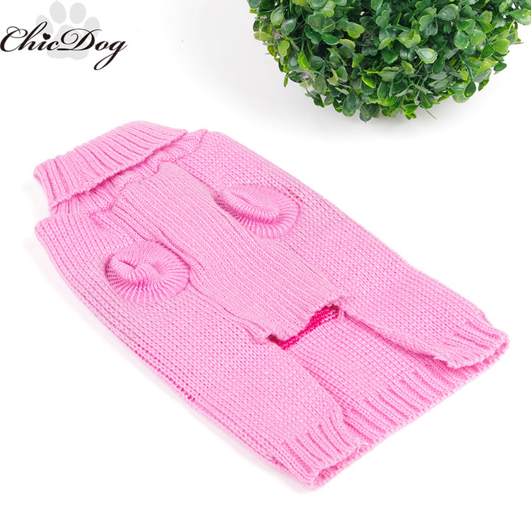 Free shipping dog sweater knitting pattern free wholesale knitted ...