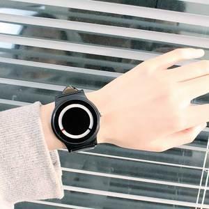 Image 4 - Nuevo Producto, reloj de concepto de tendencia sin puntero, marca creativa Simple, relojes para hombre y mujer, reloj femenino