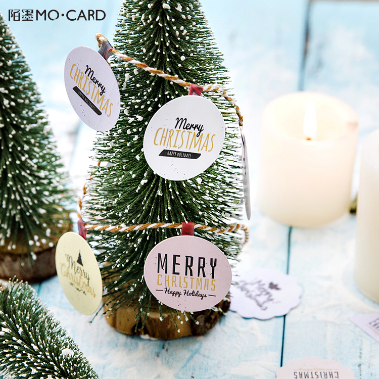 45 Pcs/lot Christmas Adhesive Stickers DIY Decoration Stickers for DIY Scrapbooking Craft Gift Wrapping цена