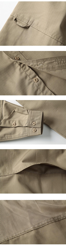 Mege Tactical Buttoned Long Sleeve Shirts For Men Army Quick Dry Kaos Pria Lengan Pendek Cabanna Black Floral Shirt Getsubject Aeproduct