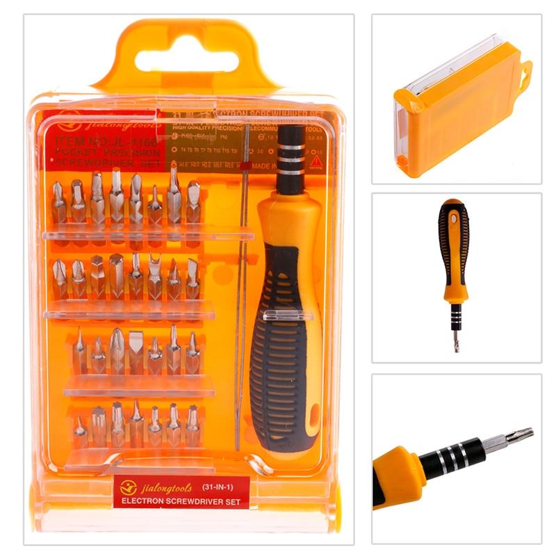 32 in 1 mini repair repair precision screwdriver torx fix fix tool kit set for phone laptop. Black Bedroom Furniture Sets. Home Design Ideas