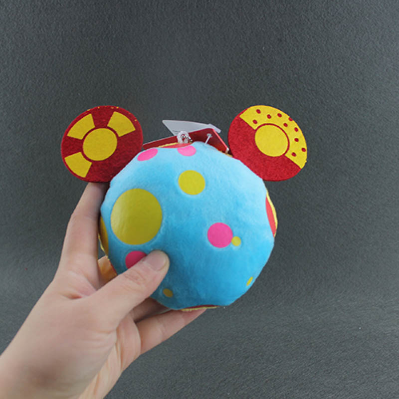 10CM Mickey Clubhouse Toys Mickey's Helper Toodles Plush Toy Soft Doll