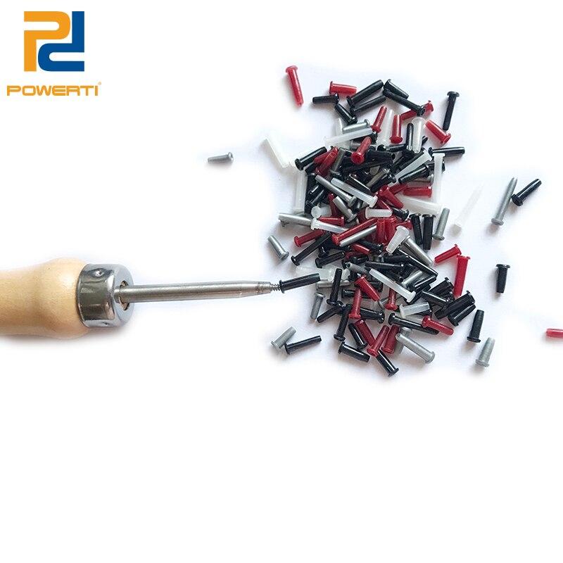 POWERTI Badminton Schläger Schutz Rohr Ösen Werkzeuge Besaitung Maschine Werkzeuge, um aus die Ösen
