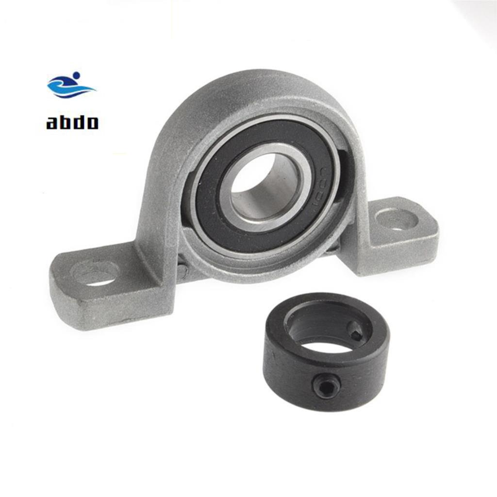 2pcs High-quality 30 mm caliber zinc alloy pillow block bearing housing UP006 Spherical ball bearing (With eccentric sleeve) 2pcs ufl001 pillow block ball bearing 12mm zinc alloy miniature bearings with sleeve
