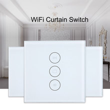 Tuya EU smart wifi curtain switch For Electric Motorized Curtain Blind Roller Shutter Works with Alexa and Google Home все цены