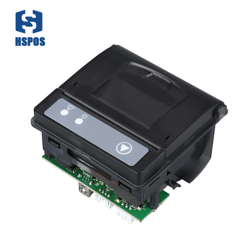Cheapest 2 Inch Embedded Panel Receipt Printer Thermal Print Built In Taxi With TTL Or RS232 Port