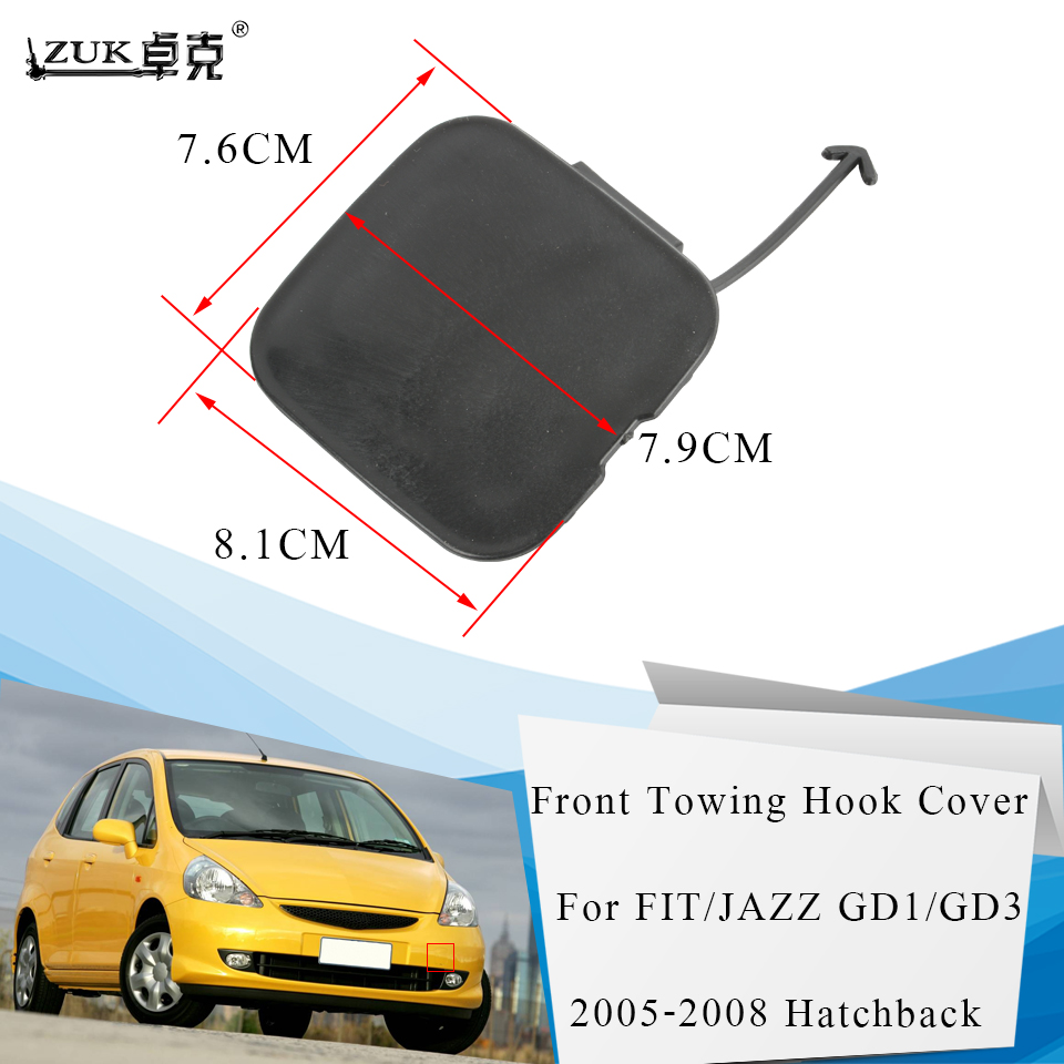 1PCS REAR Bumper Tow Hook Cover Cap TOW BRACKET for 2011-2015 HYUNDAI IX35