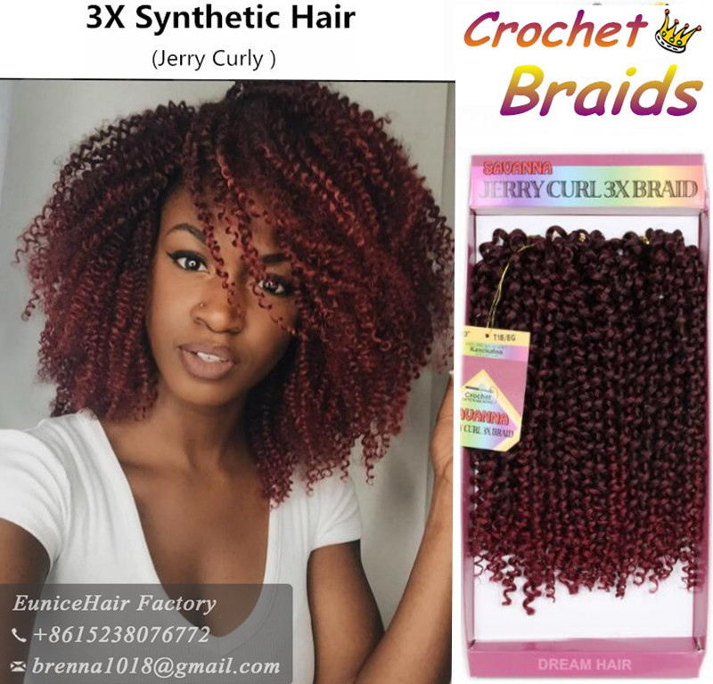 Jerry Curl Braided Hairstyles For Women 2017 New