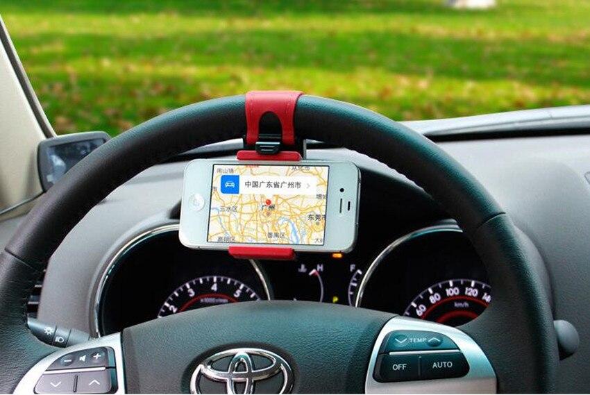 Soporte de teléfono para coche Clip de volante para DAIHATSU lados sirion yrv charade feroza mira para Dacia duster