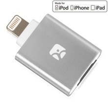 Meenova Traço eu MicroSD Card Reader para iPhone/iPad/iPod com Porta Relâmpago como Flash Drive, Leitor relâmpago, Leitor iPhone