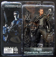 Classic Movie Arnold Schwarzenegger Doll NECA The Terminator 2 T800 T 800 Cyberdyne Showdown Model Action