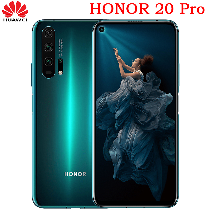 Presell new huawei Honor 20 pro mobile phone Full Screen AI Camera Octa Core Fingerprint ID