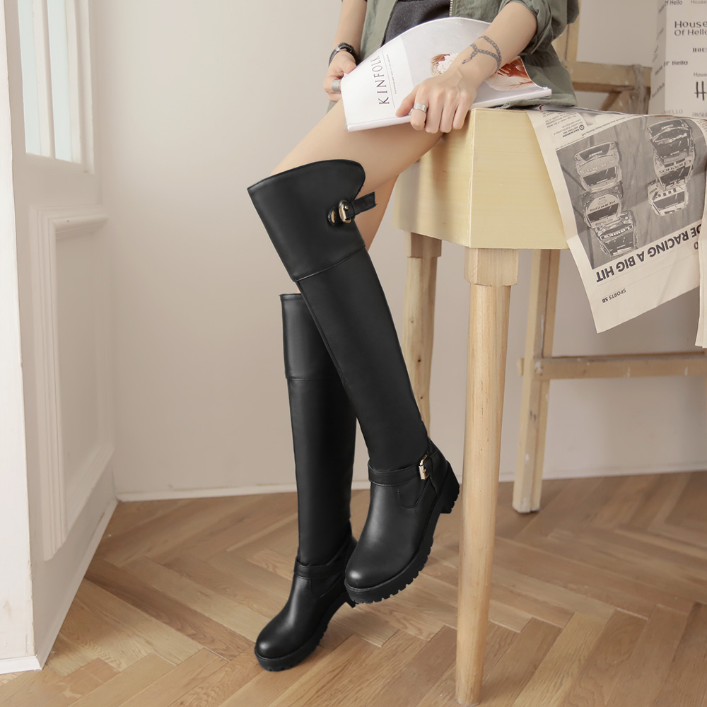 446997ea1916f7 Shoe-N-Tale-NEW-style-women-over-knee-high-boots-Long-boots -Rubber-style-thigh-high.jpg