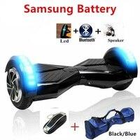 8 дюймов Hover доска Samsung батареи взрослых Электрический скутер скейтборд 2 колеса Электрический Smart Баланс стоял скутер oxboard