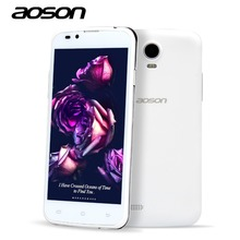 1pcs/lot Aoson G506 Unlocked Android 3G Smart Phone MTK6572 Dual Core Android 4.4 5 Inch IPS 854*480P 5.0MP Dual Sim 3G GPS