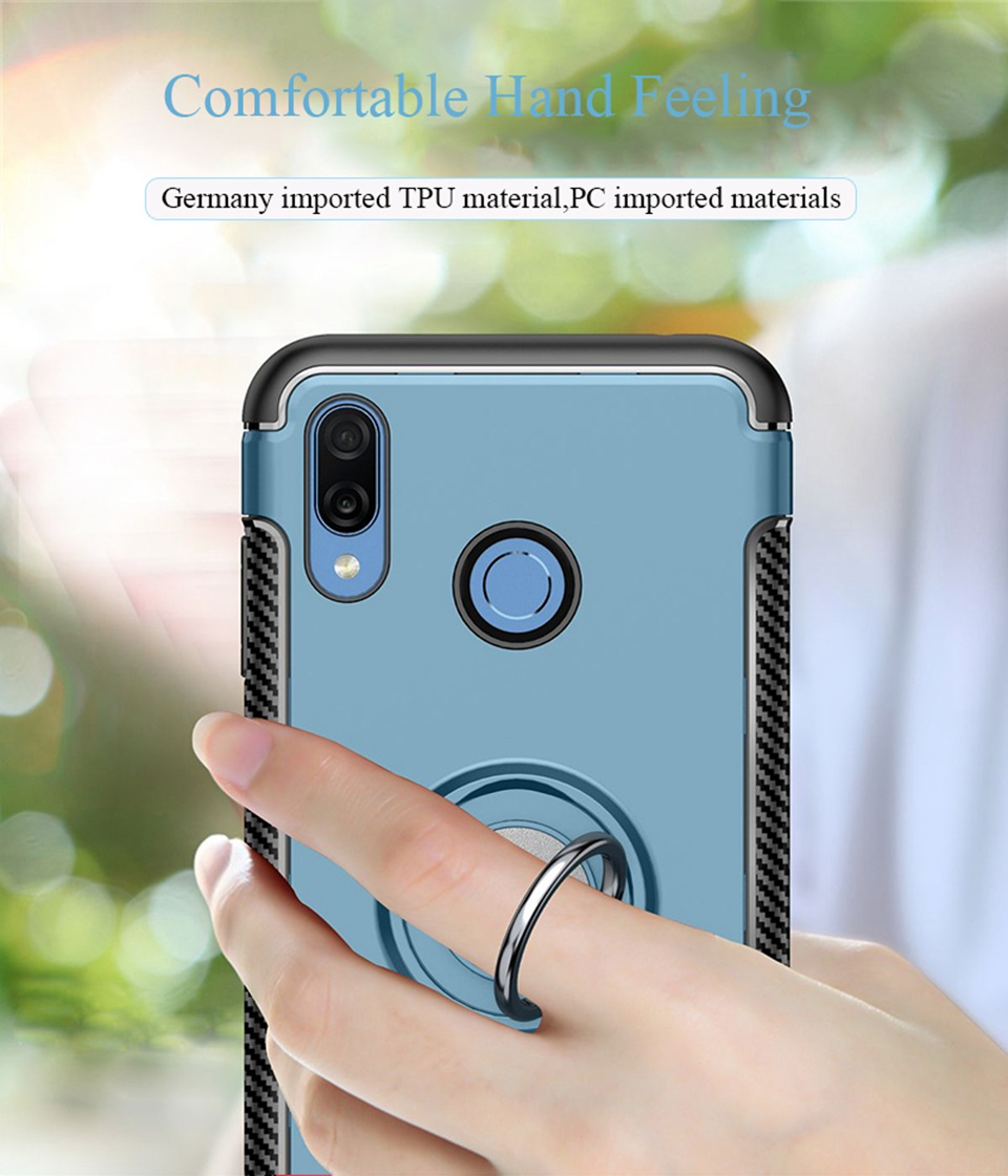 P2 Lite Bfollow Clear Soft Tpu Case For Huawei P20 Mate 10 With Finger Ring Stand Back Cover Coque P20 Pro